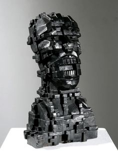 3d Portrait, Portrait Photography, Eduardo Paolozzi, Sculpture Head, Art Thou, A Level Art, Contemporary Sculpture, Gcse Art, Exhibition Space