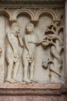 Catedral de Modena,relieve romanico  Italia