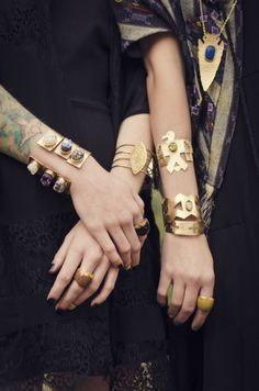 pretty cuffs from bly design