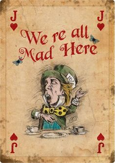 alice in wonderland original art playing cards Alice And Wonderland Quotes, Alice In Wonderland Tea Party, Adventures In Wonderland, Alice In Wonderland Pictures, Alice In Wonderland Vintage, Mad Hatter Party, Mad Hatter Tea, Mad Hatters, Vintage Playing Cards