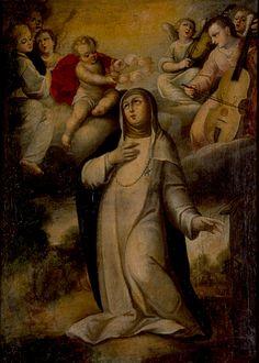 Santa Rosa de Lima - Gregorio Vázquez de Arce y Ceballos