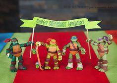 Teenage Mutant Ninja Turtle birthday party - Boys Birthday party ideas