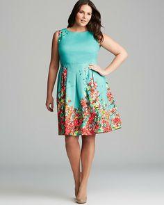 Candice Huffine, 33-inch waist, 43.5-inch hips.  Lafayette 148 New York Plus Zoe Dress on shopstyle.com