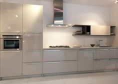 Rotpunkt kitchen - final choice of colour is Kashmir - but it's in Matt and not gloss as shown here
