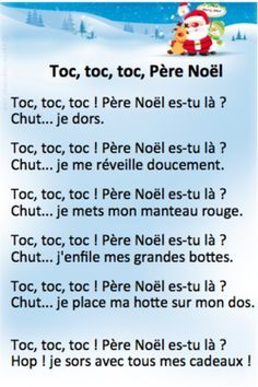 To Learn French Children Printing Videos Clothes Belts Learning French For Kids, French Language Learning, Teaching French, Education And Literacy, French Education, French Christmas, Kids Christmas, Christmas Activities, Preschool Activities