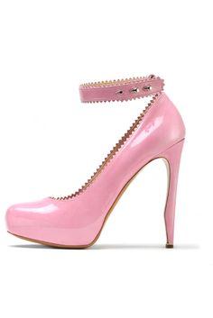 fall 2012, Nicholas Kirkwood, shoes, platforms, high heels, pumps, fuchsia