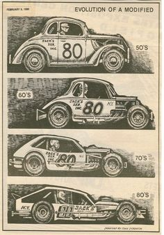 Evolution of the modified race car