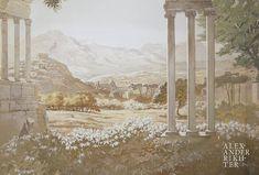 Landscapes, Painting, Art, Paisajes, Art Background, Scenery, Painting Art, Kunst, Paintings