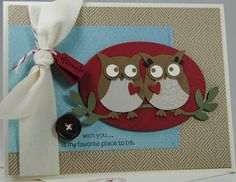 Laura's Works of Heart: FOR THE BIRDS CARD