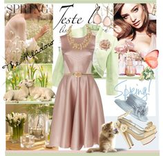 """Find Your Spring Mood in the Meadow"" by judysingley-polyvore ❤ liked on Polyvore"