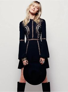 Free People Penelope Mini Dress, $281.00