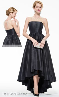 Simple and draped cut-out, endow this Prom dress with chic and elegance. #JJsHouse #Party #Prom