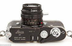 Black Paint Leica M3.