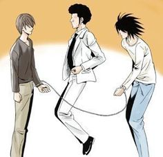 Light, L and Aizawa lol