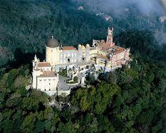 Palacio da Pena Palace. Portugal. Built 15 Century