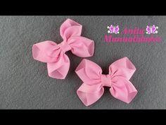 Making Hair Bows, Diy Hair Bows, Diy Bow, Diy Ribbon, Ribbon Crafts, Diy Headband, Headbands, Jojo Bows, Hair Bow Tutorial
