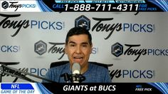 New York Giants vs. Tampa Bay Buccaneers Free NFL Football Picks and Pre...