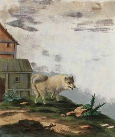 Hunde.   Kupferstiche aus Buffon 1769 u. Brasch 1789