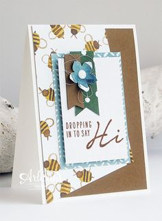 Acorny Thank You, English Garden DSP, Petite Petals Punch, Banner Triple Punch - Inge Groot