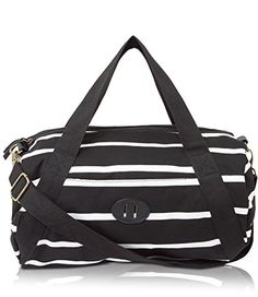 Big enough to hold your stuff, small enough to not break your back. Black And White Bags, Best Travel Accessories, Amazon Associates, Gym Bag, Wanderlust, Good Things, Weekender Bags, Christmas 2016, Buzzfeed