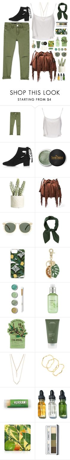 """""""In an unusual place, when you're feeling far away, she does what the night does to the day."""" by povring on Polyvore featuring Jean-Paul Gaultier, Topshop, Terre Mère, Allstate Floral, Diane Von Furstenberg, Karen Walker, Chloé, Sonix, See by Chloé and The Face Shop"""