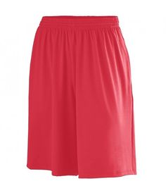 POLY/SPANDEX SHORT WITH POCKETS
