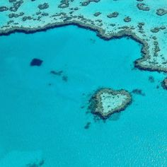 #Throwback to 2012 when I (not myself naturally) flew a helicopter over the Great Barrier Reef on the northeast coast of Australia and I took this photo of the amazing Heart Reef.  Lots of love to my #bbgsisters today!  #tbt #throwbackthursday by corporate.coconut http://ift.tt/1UokkV2