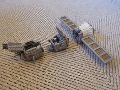 Lego Soyuz modules