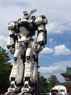 警視庁警備部特車二課第二小隊所属パトレイバー 98式イングラム #kyoto #japan