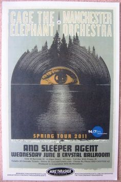 | Music Posters - Posters Rock/Pop Gig G-P - MANCHESTER ORCHESTRA, Sleeper Agent ...
