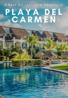 From tried-and-true classics to hip new boutiques these 6 all-inclusive resorts in Playa del Carmen are our favorites along the coast. What are you waiting for? Best All Inclusive Resorts, Jamaica Resorts, Jamaica Travel, Mexico Resorts, Mexico Travel, Jamaica Honeymoon, Jamaica Jamaica, Florida Resorts, Maui Vacation