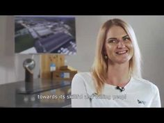 Ketri Loorits, Packaging Operator at Imavere Beam Mill in Estonia. She is packaging and preparing all the finished material. Growth Company, Take That, Packaging, Youtube, Wrapping