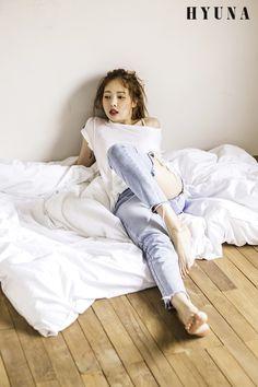Designer Clothes, Shoes & Bags for Women J Pop, Kpop Girl Groups, Kpop Girls, Hyuna Triple H, Hyuna Photoshoot, Asian Woman, Asian Girl, Hyuna Fashion, Hyuna Kim