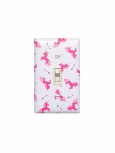 Hey, I found this really awesome Etsy listing at https://www.etsy.com/listing/198161488/unicorn-light-switch-plate-cover-pink