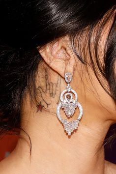 A Comprehensive Guide To Cardi B& Tattoos+ Cardi B Tattoo, S Tattoo, Tattoo Trends, Tattoo Ideas, Unique Tattoos, Cool Tattoos, Cardi B Nails, Love Yourself Tattoo, Pretty Ear Piercings