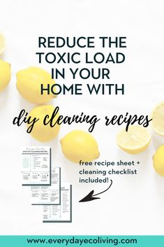 The Best Cleaning Recipes with Essential Oils - EverydayEcoLiving - Trend Natural Cleaning Recipes 2019