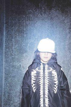 More great bones in an outerwear rain jacket at Molo kidswear for winter 2016