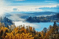 Cross Stitch Pictures, Cross Stitch Designs, Cross Stitching, Quilts, Painting, Stitches, Puzzle, Digital, Crochet