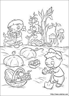 Little Einsteins Fargelegging for barn. Tegninger for utskrift og fargelegging nº 45 Fruit Coloring Pages, Online Coloring Pages, Disney Coloring Pages, Colouring Pages, Printable Coloring Pages, Coloring Pages For Kids, Coloring Books, Mini Einsteins, Little Einsteins