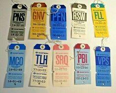 Alaska Airlines, Bag Tag, Vintage Tags, Ebay Ads, Transportation, Bullet Journal, The Originals
