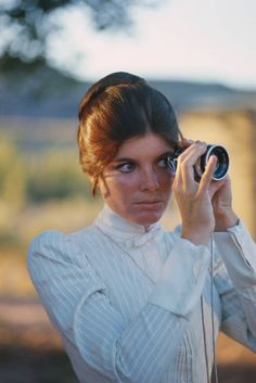 Katherine Ross on the set of Butch Cassidy and the Sundance Kid. Photo by Douglas Kirkland. Katherine Ross, Sundance Kid, Butches, Couple Photos, Couples, Couple Shots, Couple Photography, Couple, Couple Pictures