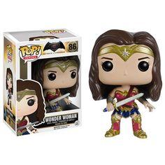 Batman V Superman Wonder Woman Pop Vinyl Figure