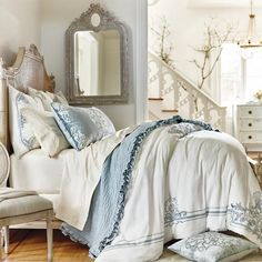 Rousseau Bedding Collection from Frontgate