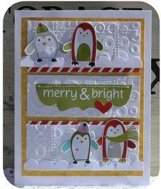 cute holiday card by danni reid.