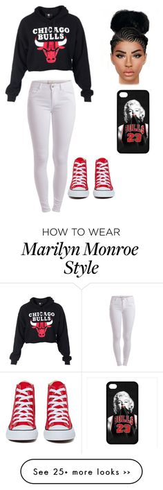 """""""Chicago Bulls"""" by mindless-chick-me on Polyvore"""