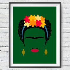 Frida Minimalista  #art #urbanarts #decor #digitalart #artprint #artflakes #society6 #dbh #drawdeck #fineartamerica #colab55 #touts #sortilejos #renatosette