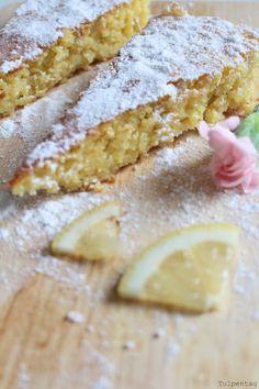 Rezept: Spanischer Mandelkuchen mit Zitrone - tulpentag