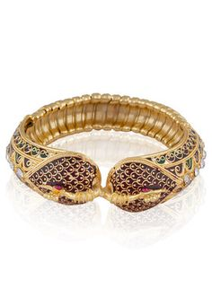 Royal Peacock Golden Kada #MyYDHDLook
