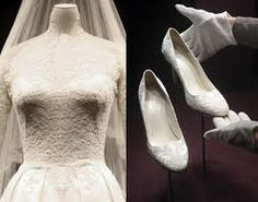 Kate's shoes - her wedding shoes