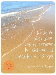 La Vida lalala...: lo esencial es invisible a los ojos